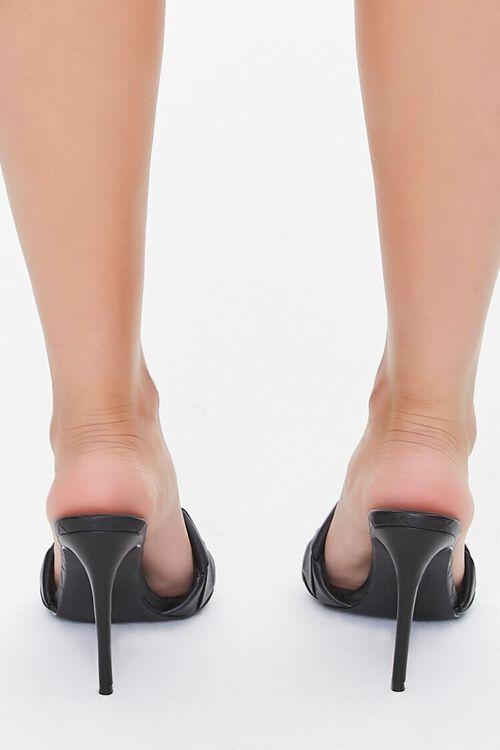 Crosshatch Square-Toe Stiletto Heels, image 3