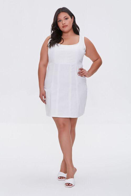 Plus Size Tank Mini Dress, image 4