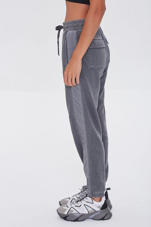 CHARCOAL Side-Striped Joggers, image 3
