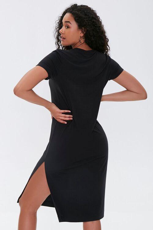 Leg-Slit T-Shirt Dress, image 4
