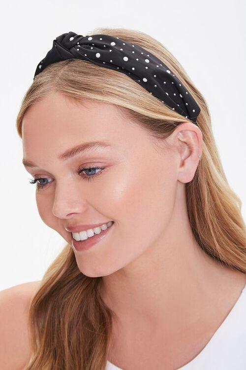 Knot-Top Embellished Headband, image 1