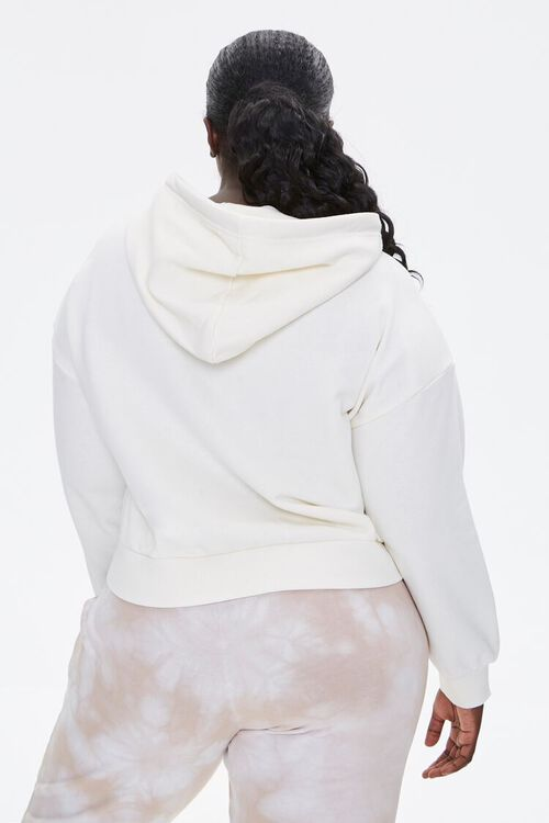Plus Size Femme Embroidered Hoodie, image 3