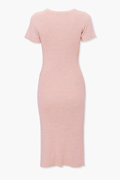 Heathered Bodycon Dress, image 2