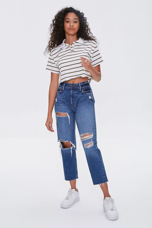 Striped Polo Shirt, image 4