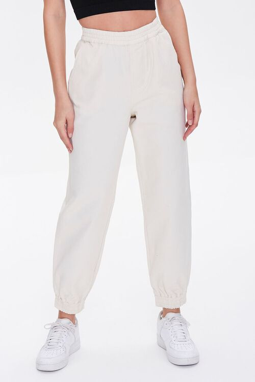 CREAM Smocked Ankle Joggers, image 2