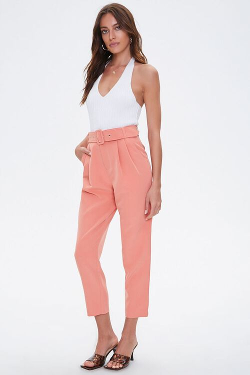 Belted Ankle Pants, image 1