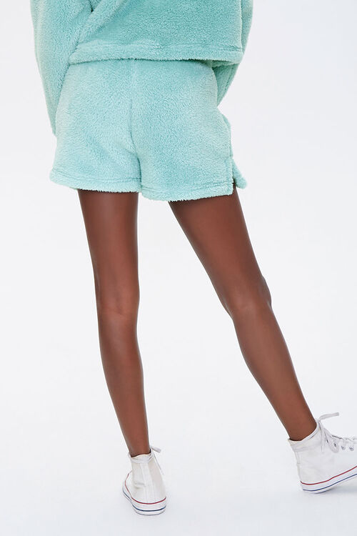 Plush Drawstring Shorts, image 4
