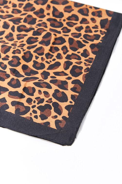 BROWN/MULTI Leopard Print Bandana Wizard, image 4
