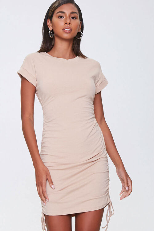 Drawstring T-Shirt Dress, image 6