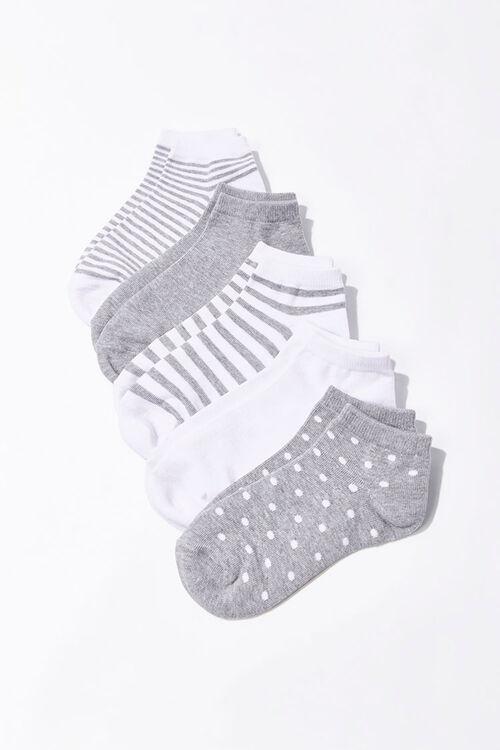 Patterned Ankle Socks Set - 5 Pack, image 1