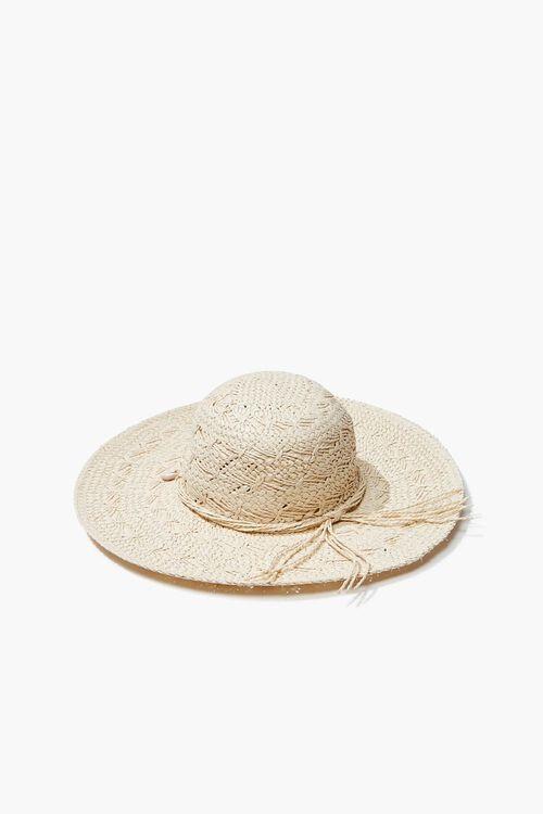 Seashell Charm Straw Hat, image 3