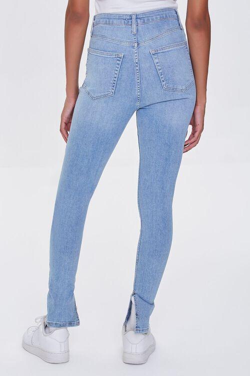 LIGHT DENIM Premium High-Rise Skinny Jeans, image 4