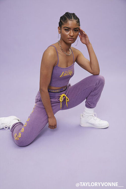 Los Angeles Lakers Cropped Cami, image 1