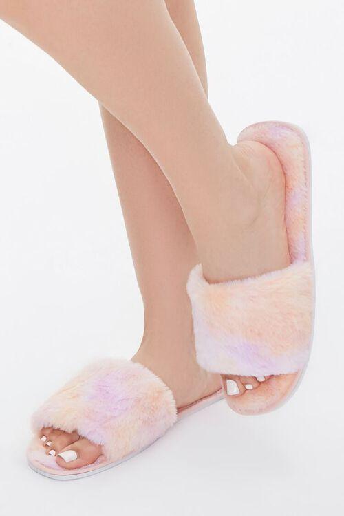 Cloud Wash Faux Fur Slippers, image 1