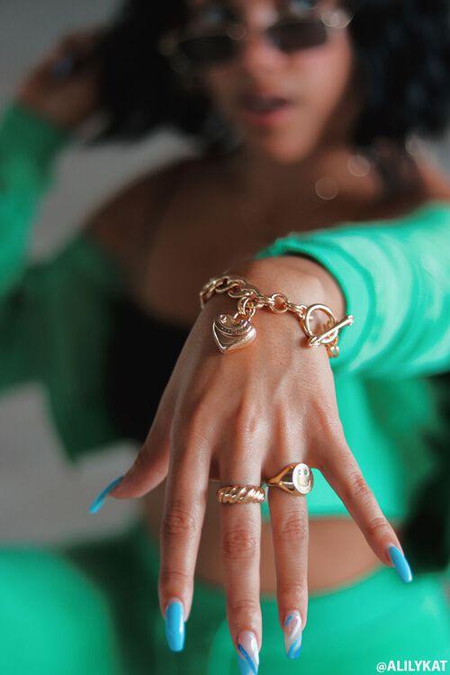 Juicy Couture Heart Bracelet, image 1
