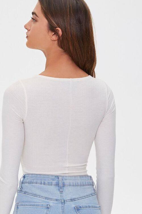 Ribbed Sweetheart Bodysuit, image 3