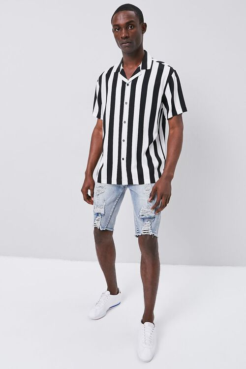 Classic Fit Bold Striped Shirt, image 4