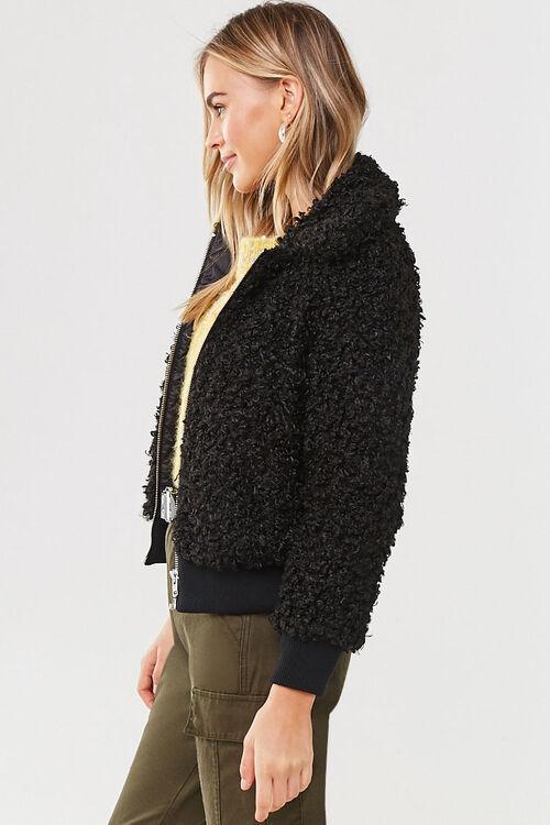 Boucle Knit Teddy Jacket, image 2