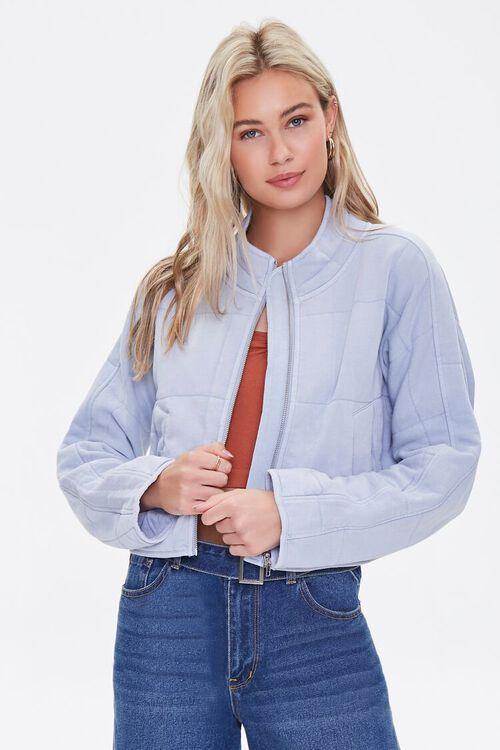 Quilted Zip-Up Jacket, image 1