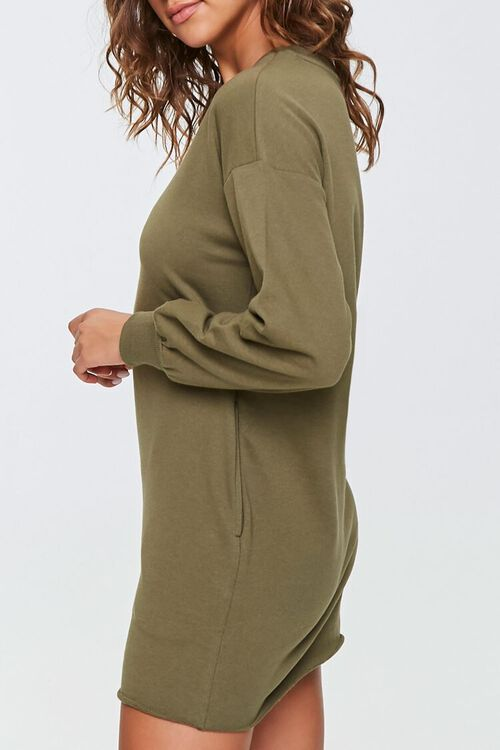 French Terry Sweatshirt Dress, image 2