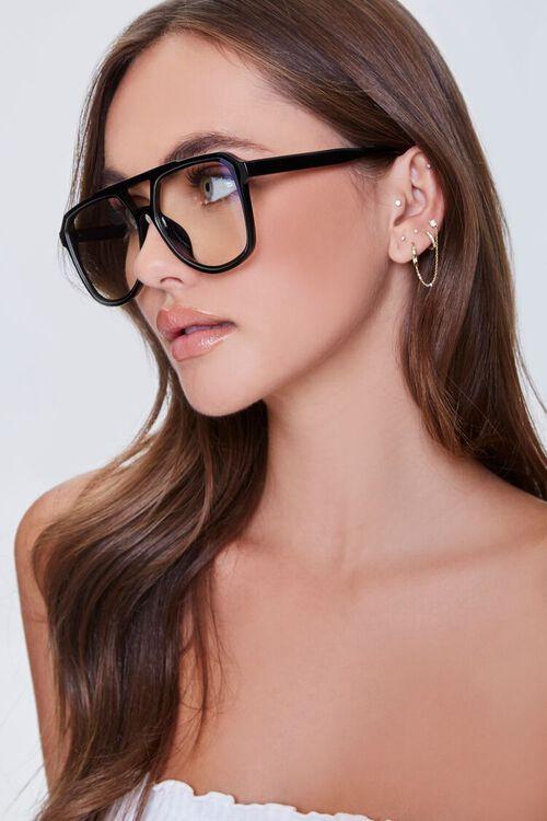 BLACK/CLEAR Blue Light Reader Glasses, image 2