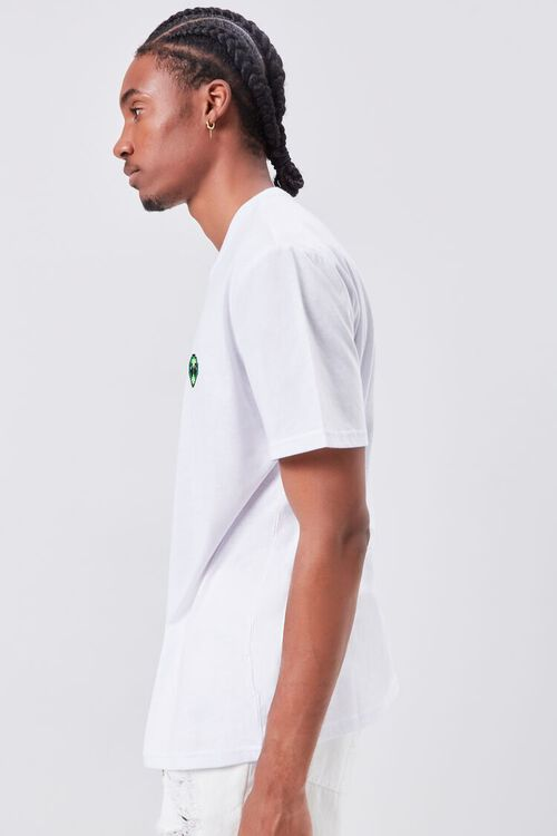 Alien Embroidered Graphic Tee, image 2
