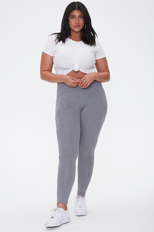 Plus Size High-Rise Leggings, image 5