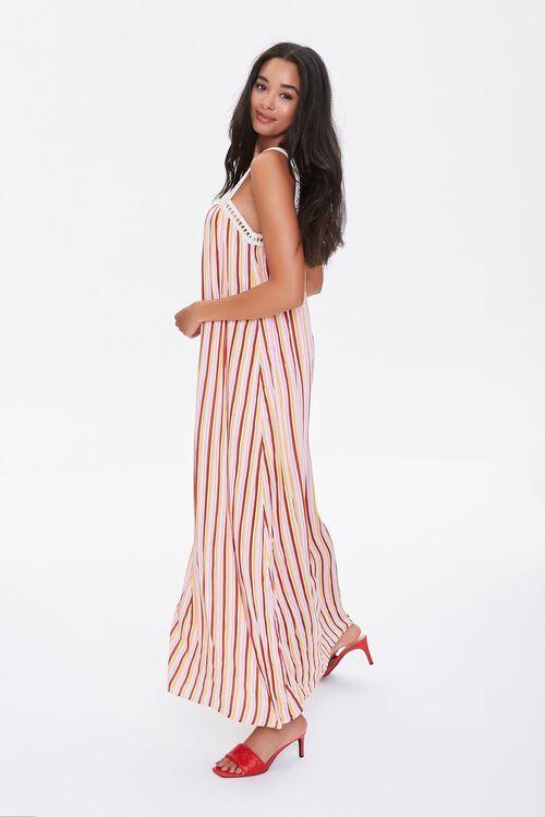 Striped Crochet-Trim Dress, image 3