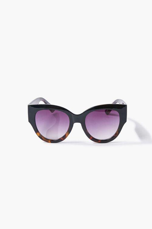 BLACK/BLACK Tortoiseshell Gradient Sunglasses, image 3