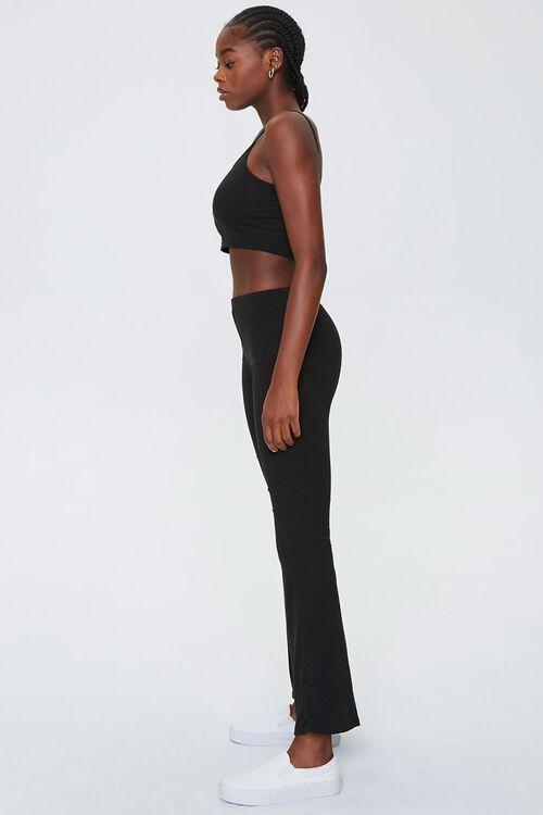 Ribbed Cropped Cami & Pants Set, image 2