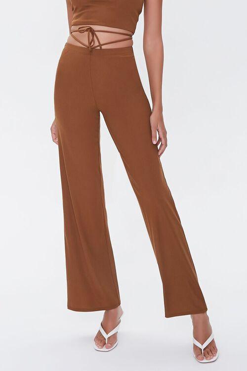 Wraparound Halter Top & Pants Set, image 5