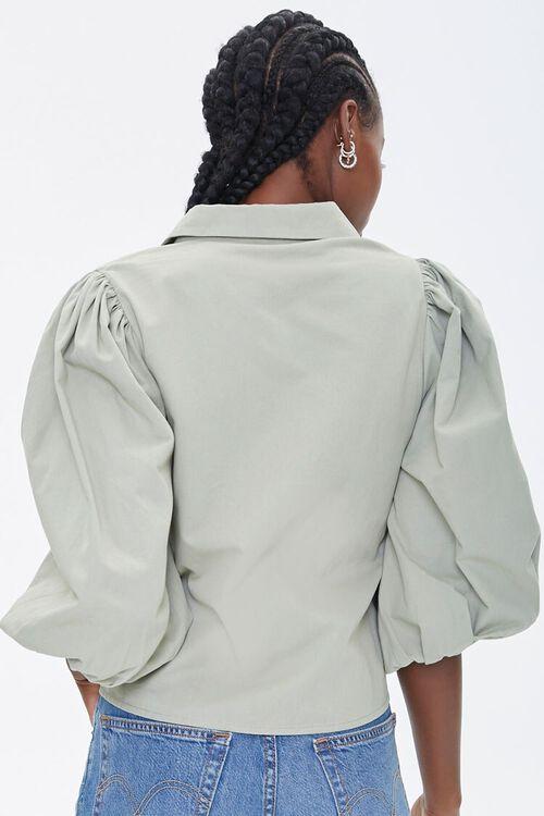 Balloon-Sleeve Shirt, image 3