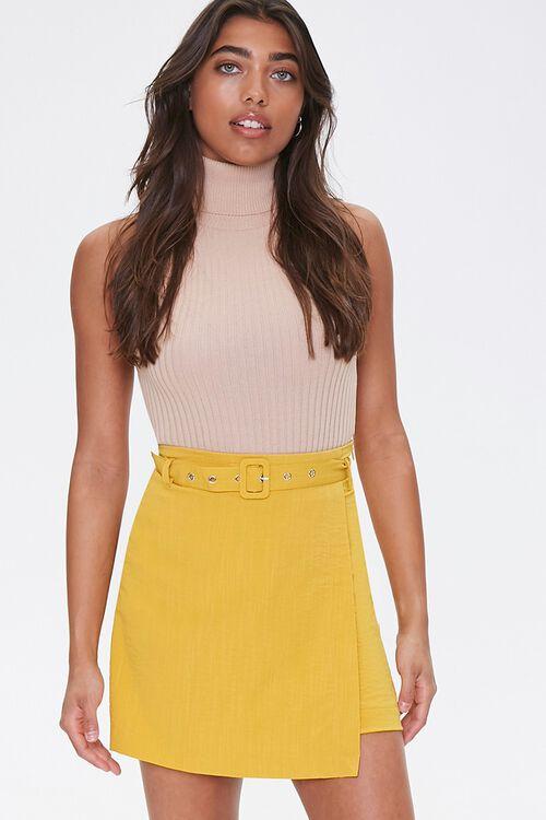 Belted Mini Skirt, image 1