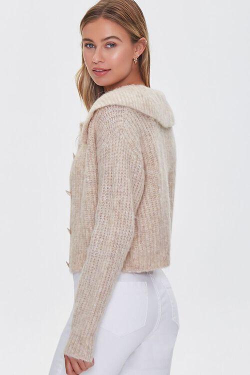 SAND Ribbed Cardigan Sweater, image 2