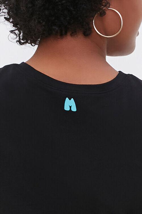 Plus Size Moxi Skates Embroidered Graphic Tee, image 6