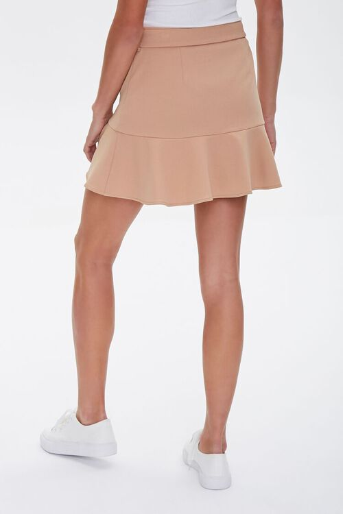Flounce-Trim Mini Skirt, image 4