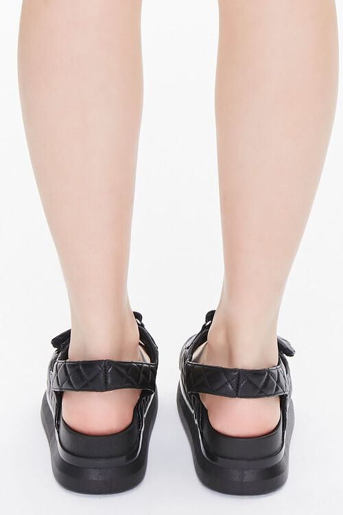 Buckled Quilted Wedges, image 3