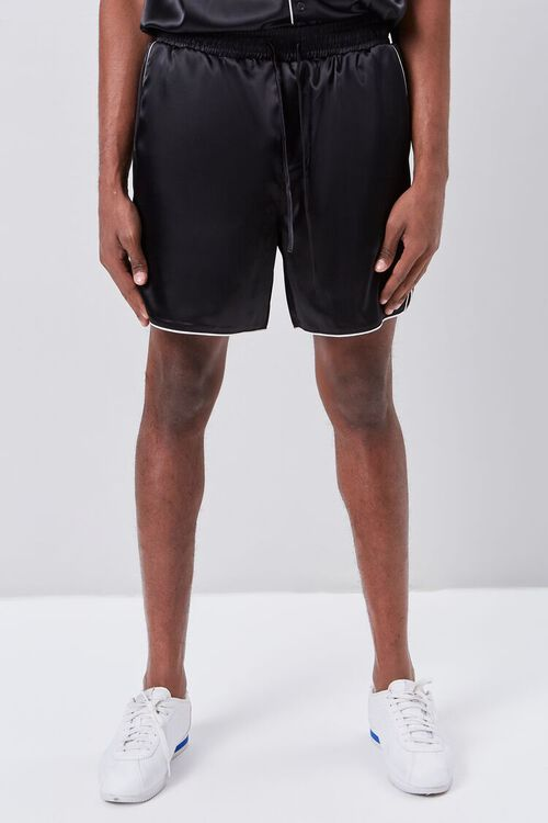 Satin Drawstring Shorts, image 2