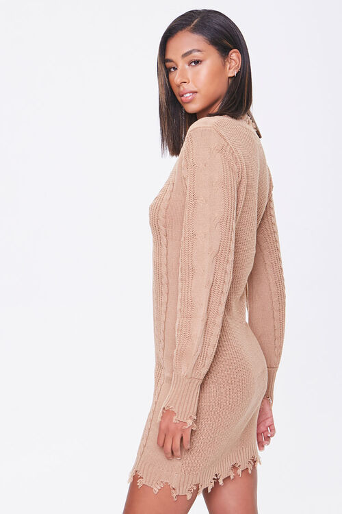 Cable Knit Sweater Dress, image 2