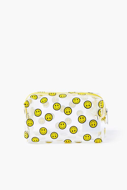 Smiling Face Print Pouch, image 1