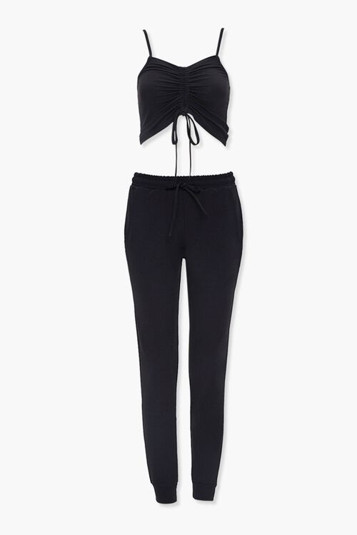 Cropped Cami & Joggers Set, image 7