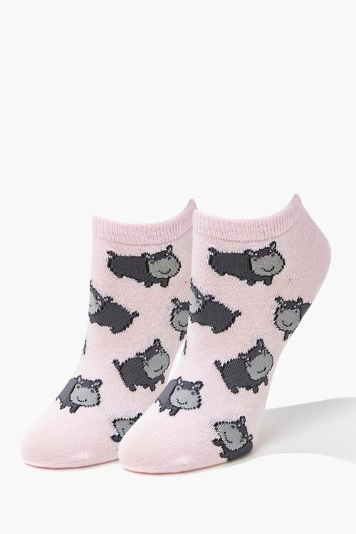 Hippo Ankle Socks, image 1