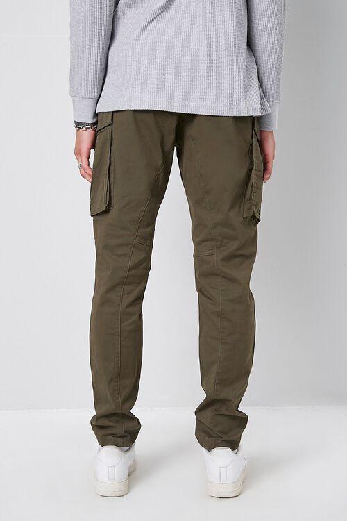 Skinny Denim Cargo Pants, image 4