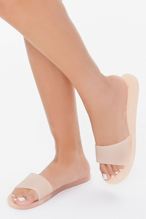 Jelly Slide Sandals, image 1