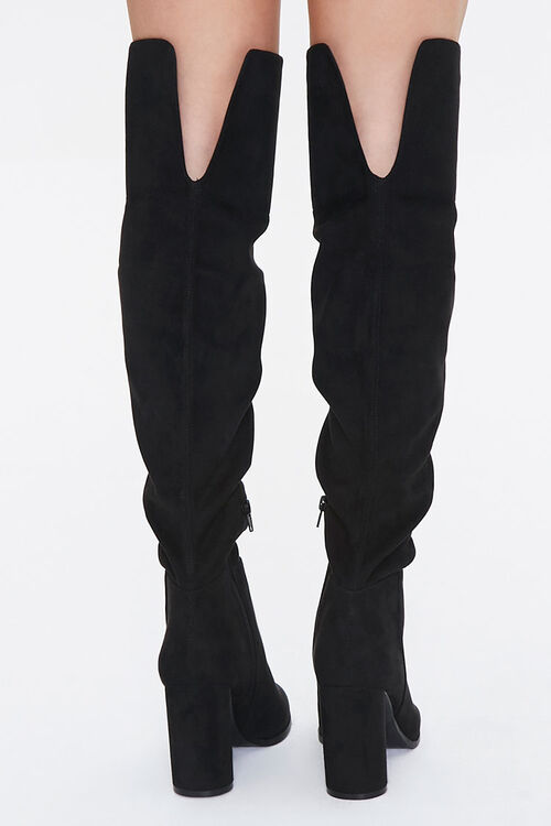 Over-the-Knee Block Heel Boots, image 3