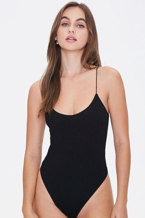 Ribbed Scoop-Cut Bodysuit, image 5