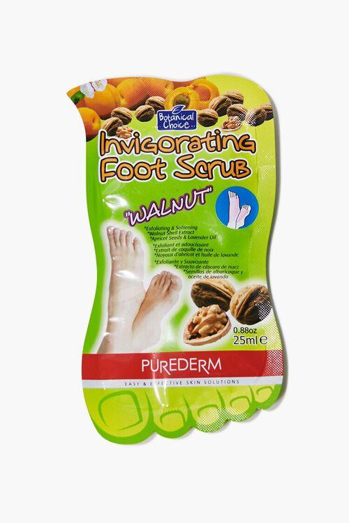 GREEN Invigorating Walnut Foot Scrub, image 1