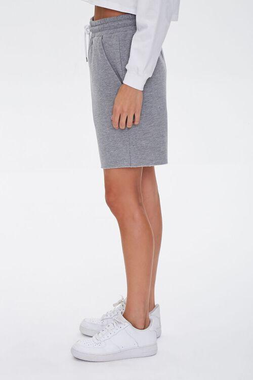 Basic Raw-Cut Drawstring Shorts, image 3
