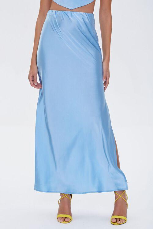 Satin Maxi Skirt, image 2