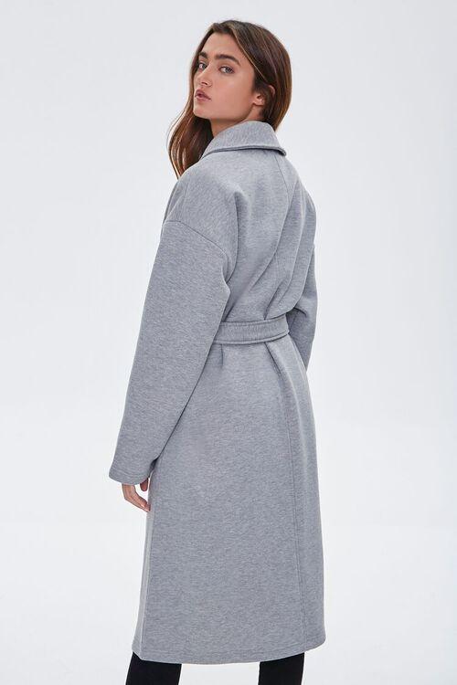 Fleece Tie-Waist Wrap Jacket, image 4